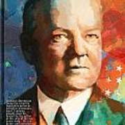 Herbert Hoover Poster by Corporate Art Task Force
