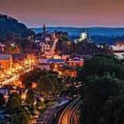 Hermann Missouri - A Most Beautiful Town Poster by Tony Carosella