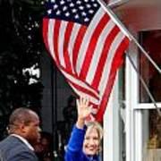 Hillary Clinton Poster by Ed Weidman