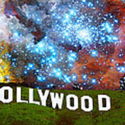 Hollywood 2 - Home Of The Stars By Sharon Cummings Poster by Sharon Cummings