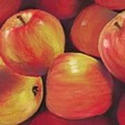 Honeycrisp Apples Poster by Anastasiya Malakhova