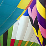 Hot Air Balloon Poster by Marcia Colelli