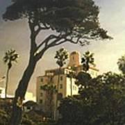 Hotel California- La Jolla Poster by Steve Karol