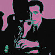 Humphrey Bogart And The Maltese Falcon 20130323m138 Poster by Wingsdomain Art and Photography