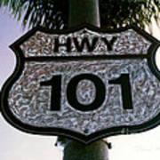 Hwy 101 Poster by Glenn McNary