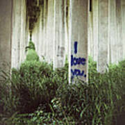 I Love You Poster by Trish Mistric