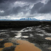 Iceland After The Rain Poster by Nina Papiorek