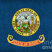 Idaho State Flag Poster by Pixel Chimp