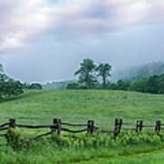 Imaginary Morning On The Blue Ridge I Poster by Dan Carmichael