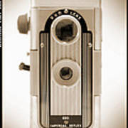 Imperial Reflex Camera Poster by Mike McGlothlen