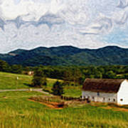 Impressionist Farming Poster by John Haldane