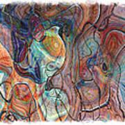 In My Minds Eye Poster by Susan Leggett