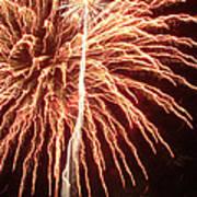 Independence Day Sparklers 2 Poster by Deborah Smolinske