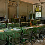 Independence Hall In Philadelphia Poster by Olivier Le Queinec