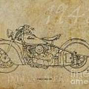 Indian Chief 1948 Poster by Pablo Franchi