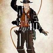 Indiana Jones Vol 2 - Harrison Ford Poster by Ayse Deniz