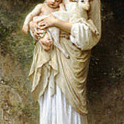 Innocence Poster by William Bouguereau