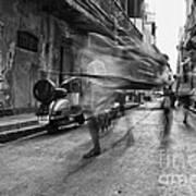 Invisible Rickshaw Puller Poster by Soumya Shankar Ghosal