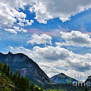 Iridescent Clouds Above Ouray Colorado Poster by Janice Rae Pariza