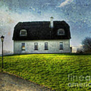 Irish Thatched Roofed Home Poster by Juli Scalzi