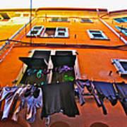 Italian Laundry Poster by Mark Prescott Crannell