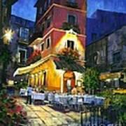 Italian Nights Poster by Michael Swanson