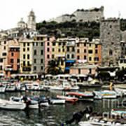 Italian Seaside Village Poster by Jim  Calarese