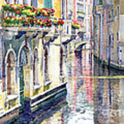 Italy Venice Midday Poster by Yuriy Shevchuk