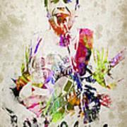 Jack Johnson Portrait Poster by Aged Pixel