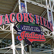 Jacobs Field - Cleveland Indians Poster by Frank Romeo