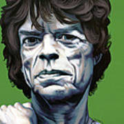 Jagger Poster by Kelly Jade King