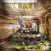 Jail - Eastern State Penitentiary - The Mess Hall  Poster by Mike Savad