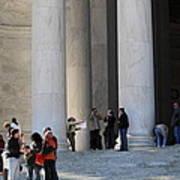 Jefferson Memorial - Washington Dc - 01132 Poster by DC Photographer