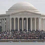 Jefferson Memorial - Washington Dc - 01134 Poster by DC Photographer