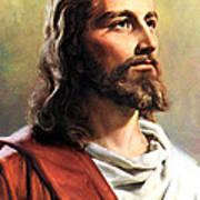 Jesus Christ Poster by Munir Alawi