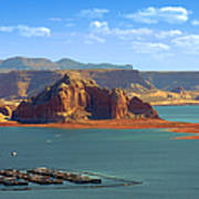 Jewel In The Desert - Lake Powell Poster by Christine Till
