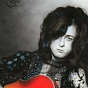 'jimmy Page' Poster by Christian Chapman Art