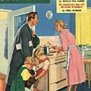 John Bull 1957 1950s Uk Cooking Poster by The Advertising Archives
