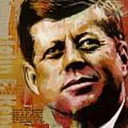 John F. Kennedy Poster by Corporate Art Task Force