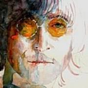 John Winston Lennon Poster by Paul Lovering