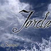 Jordan - Wise In Judgement Poster by Christopher Gaston