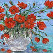 Jubilee Poppies Poster by Catherine Howard