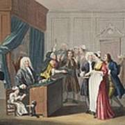Justice Triumphs, Illustration Poster by William Hogarth