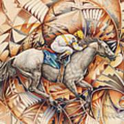 Kaleidoscope Rider Poster by Ricardo Chavez-Mendez