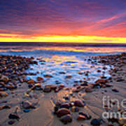 Karrara Sunset Poster by Bill  Robinson
