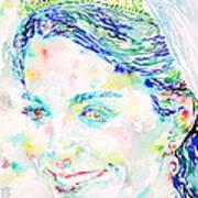 Kate Middleton Portrait.2 Poster by Fabrizio Cassetta
