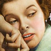 Kathryn Hepburn Poster by Studio Artist
