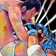 Kazushi Sakuraba 1 Poster by Robert Phelps