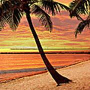 Key West Beach Poster by Marty Koch