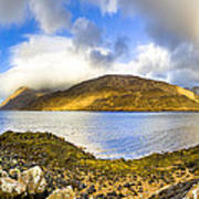 Killary Fjord - Irish Panorama Poster by Mark E Tisdale